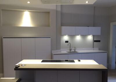 Kitchen Lighting, Electrician, Wiring and repairs, Edinburgh, Lothians, Scotland